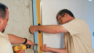 installing a basement wall finishing system in Chicopee
