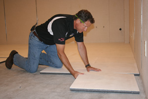 Installing ThermalDry® insulated floor decking