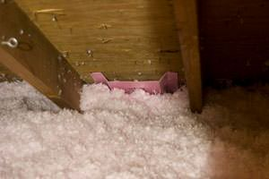 New Insulation installed in Holyoke attic