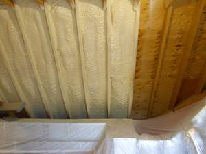Spray Foam Insulation Installed In Granby