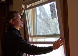 A replacement window installation in South Hadley
